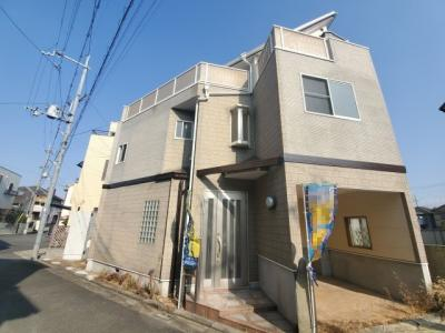 【前面道路含む現地写真】堺市東区北野田 中古戸建