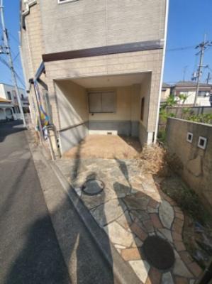 【駐車場】堺市東区北野田 中古戸建