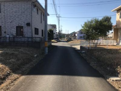 【前面道路含む現地写真】下妻市高道祖