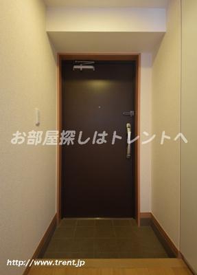 【玄関】プレールドゥーク早稲田