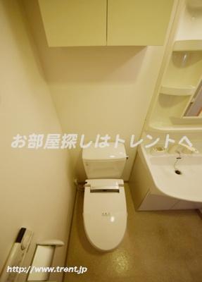 【トイレ】プレールドゥーク早稲田