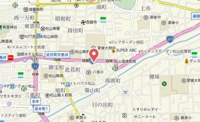 【地図】アネックス湯渡