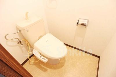 【トイレ】ドムール三国3番館