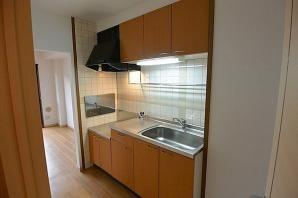 【キッチン】3LDK×15戸の一棟収益マンション!