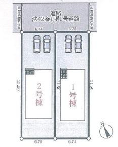 【区画図】神戸市垂水区学が丘1丁目第5 1号棟
