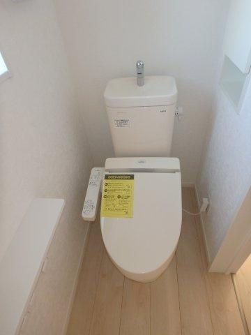 【トイレ】クレイドルガーデン 新築戸建て 羽生岩瀬-全4棟-