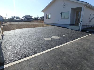 【駐車場】クレイドルガーデン 新築戸建て 羽生岩瀬-全4棟-