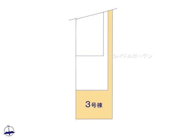 【区画図】クレイドルガーデン 新築戸建て 羽生岩瀬-全4棟-