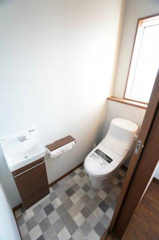 2階 温水洗浄便座です。