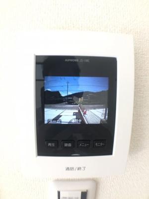 TVモニター付インターホン