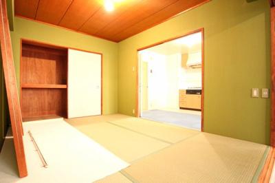 【寝室】第1シーサイドパレス塩屋