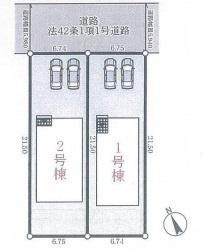 【区画図】神戸市垂水区学が丘1丁目 第5 新築戸建