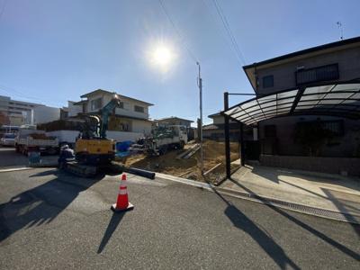【前面道路含む現地写真】神戸市垂水区学が丘1丁目 第5 新築戸建
