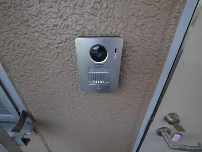 TVモニターホン設置済みです