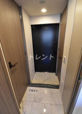 【玄関】フレンシア築地