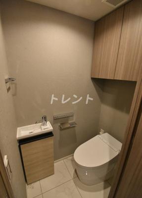 【トイレ】フレンシア築地