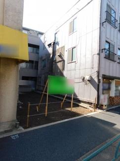 【外観】新宿区中落合3丁目 建築条件なし土地