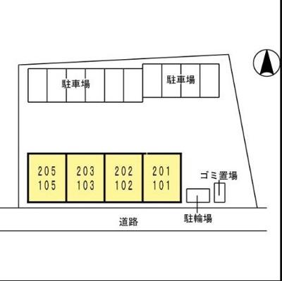 【区画図】スカイコート