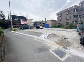 【前面道路含む現地写真】春山町 6区画分譲