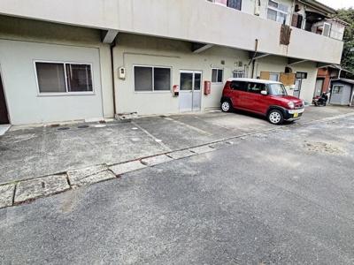 【駐車場】山村アパート