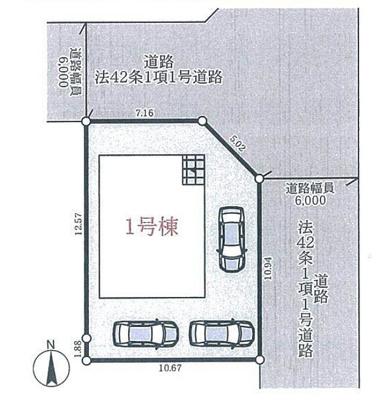 【区画図】加東市社 全1棟