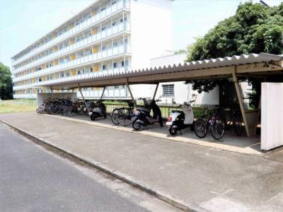 駐輪場の写真です。
