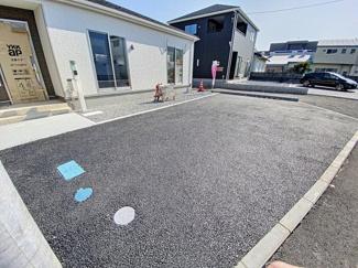 【駐車場】沼津市小諏訪第5 新築戸建 全2棟 (1号棟)