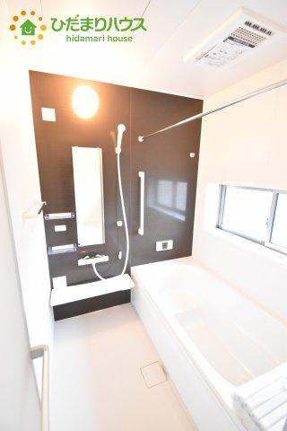 【浴室】西区土屋 4期 新築一戸建て ハートフルタウン E