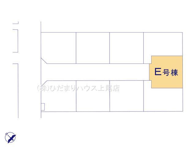 【区画図】西区土屋 4期 新築一戸建て ハートフルタウン E