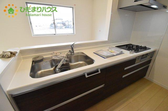 【キッチン】西区土屋 4期 新築一戸建て ハートフルタウン E