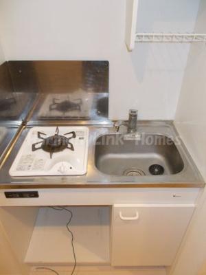 Dコート西新井のキッチンです(ミニ冷蔵庫があるか、否かは回答できかねません。現況有姿)☆