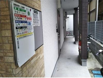 Dコート西新井の廊下☆