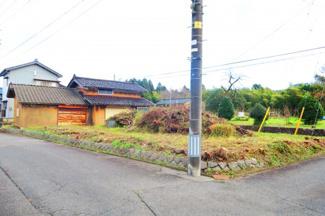 【外観】新潟市秋葉区鎌倉 売地