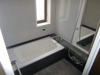 ひろびろ1坪浴槽。