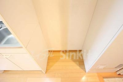 冷蔵庫置スペース
