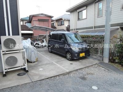 【駐車場】アイコーポ鎌倉台