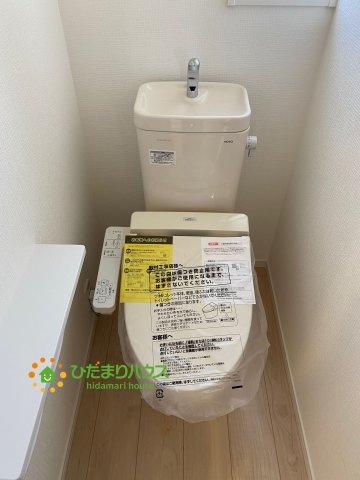 【トイレ】古河市大堤 第3 新築一戸建て 02 クレイドルガーデン
