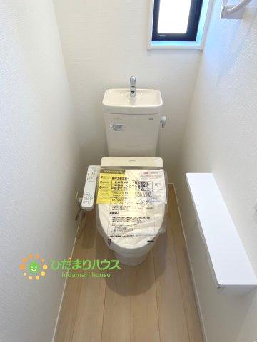【トイレ】古河市大堤 第3 新築一戸建て 03 クレイドルガーデン