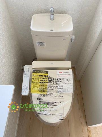 【トイレ】古河市大堤 第3 新築一戸建て 04 クレイドルガーデン