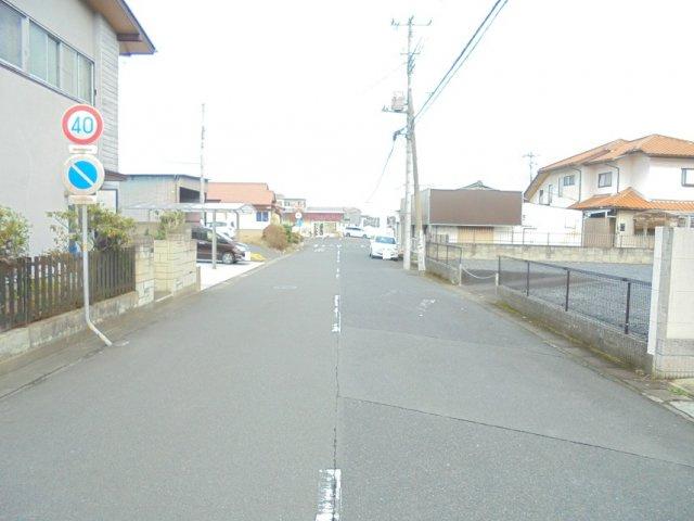 【前面道路含む現地写真】東赤塚土地