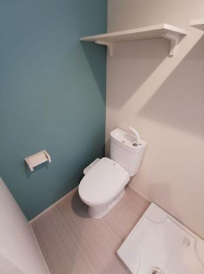 【トイレ】ハーモニーテラス足立Ⅷ