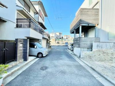 【前面道路含む現地写真】堺市中区深井中町 土地