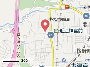 【地図】錦織1丁目貸家