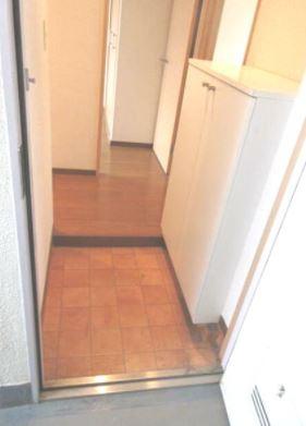 ゆったりとした玄関です(同物件別部屋の写真)