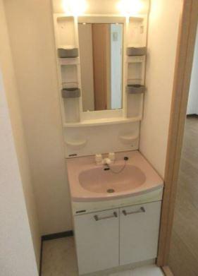 コンパクトで使いやすい洗面所(同物件別部屋の写真)