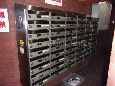 ストークメイジュの郵便ボックス