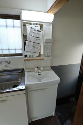 【洗面所】泉が丘2丁目貸家