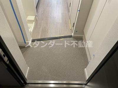 【玄関】プレサンス長堀橋グレイタス
