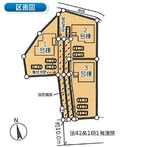 【区画図】高崎市柴崎町 2号棟