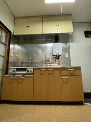 【キッチン】中島アパート